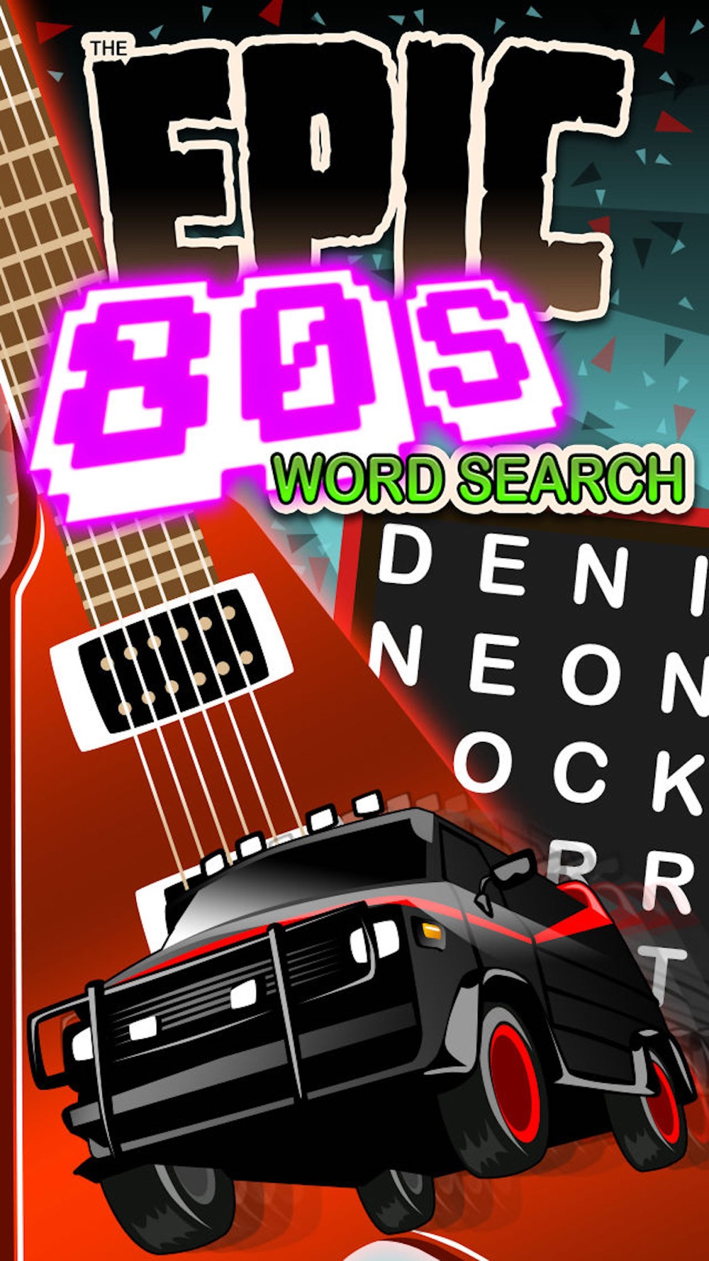 Epic 80s Word Search – giant eighties wordsearch Cheat Codes