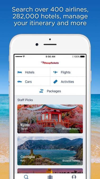 CheapTickets Flights & Hotels