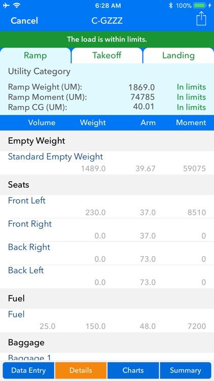 Aircraft Weight and Balance screenshot-6