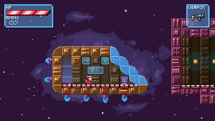 Deep Space | Space-Platformer screenshot-0