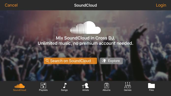 Cross DJ - dj mixer app Screenshot