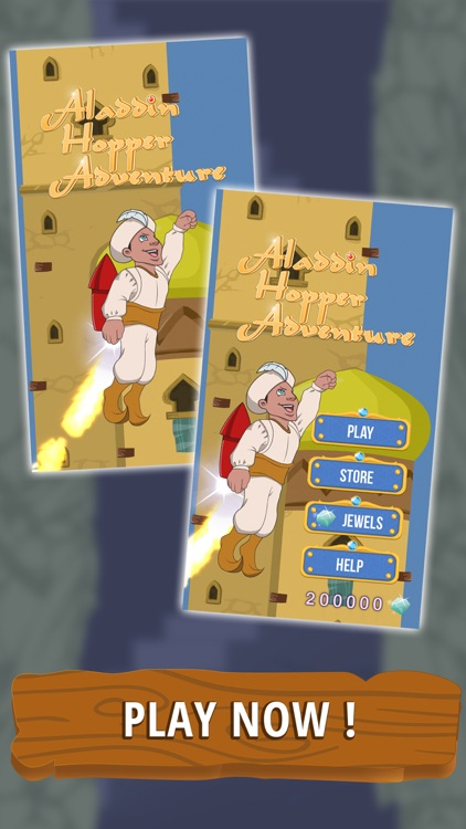 Aladdin Hopper Adventure screenshot-4