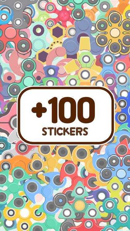 Spinner Album - Sticker Book