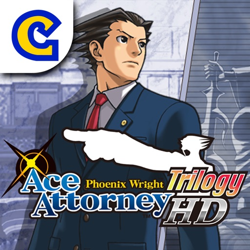 Ace Attorney Trilogy HD iOS App