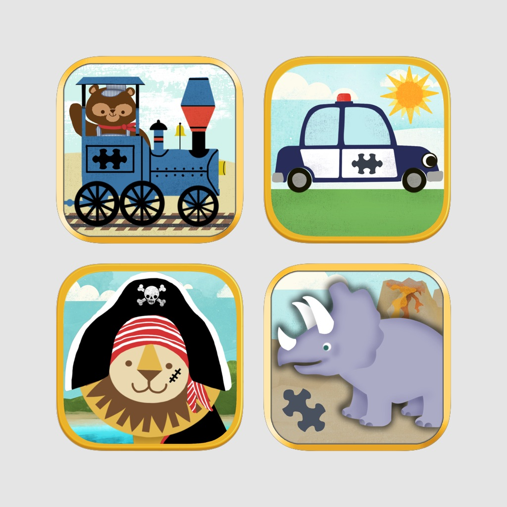Puzzle Pack Deluxe Bundle for Toddlers and Preschoolers