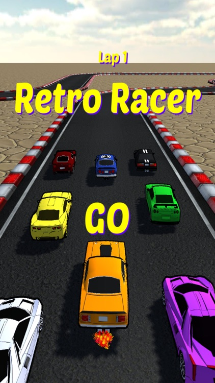 Retro Racer arcade race game