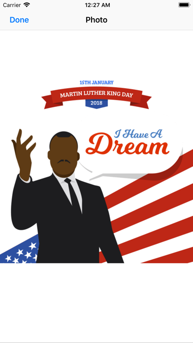 Screenshot for Martin Luther King Jr. Day in Sweden App Store