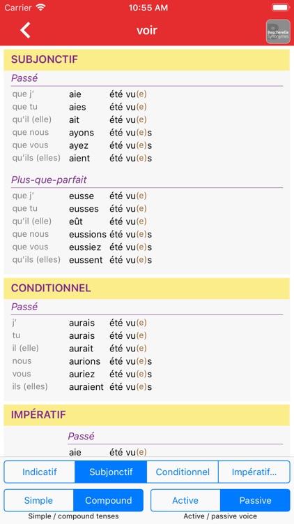 Bescherelle Conjugaison screenshot-4