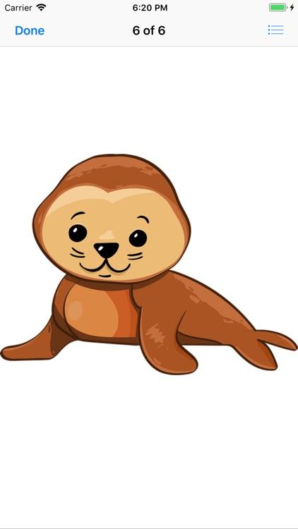 Slippery Seal Stickers screenshot-6