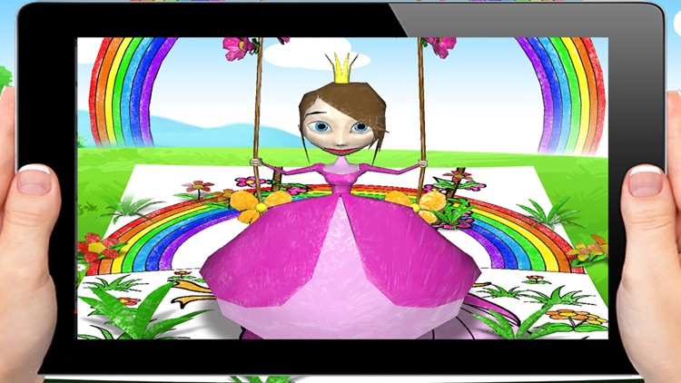 3D Coloring Pages- Kids AR Fun