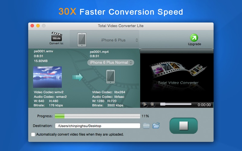 Total Video Converter Lite Screenshot