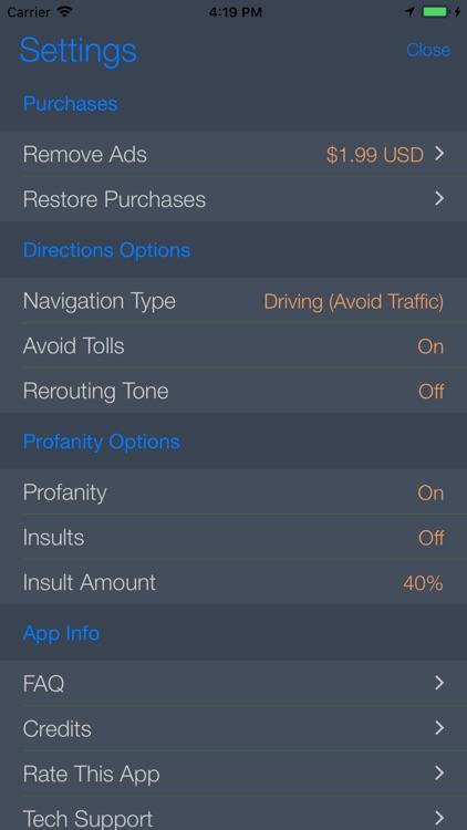 Back Seat Navigator screenshot-5