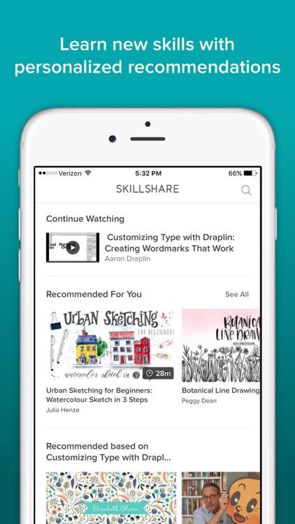 Skillshare Online Classes screenshot-3