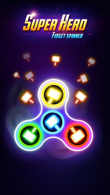SuperHeroes Fidget Spinner screenshot-4