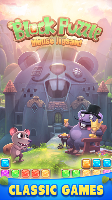 Block Puzzle - Blast Jigsaw ! Screenshot on iOS