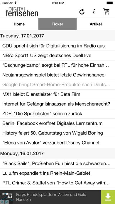 DigiTV News screenshot two