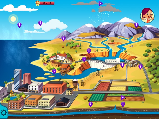 Didi Learns - The Water - A New Educational App for Kids Image