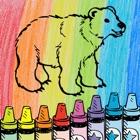 着色书乐:涂料和Draw为儿童 icon