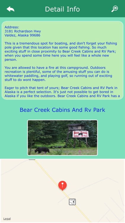 Alaska Campgrounds & Parks screenshot-2