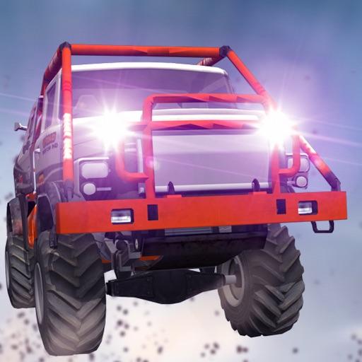 Monster Truck Rush Driving Sim iOS App