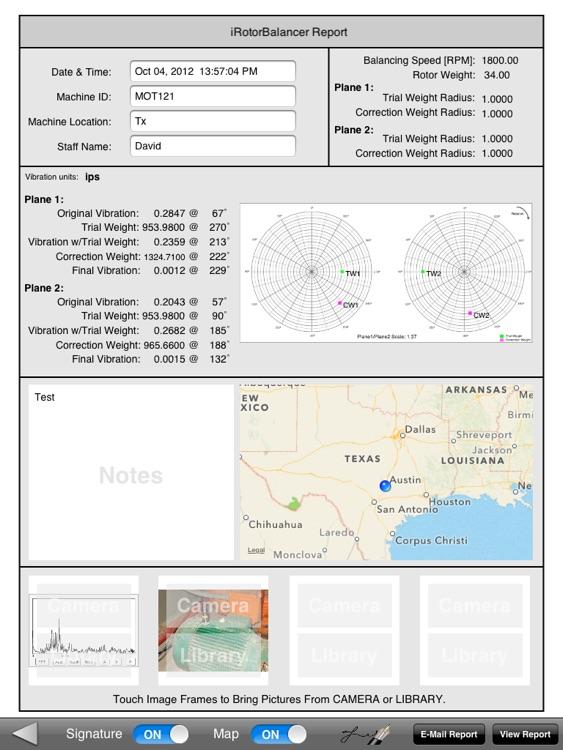 iRotorBalancer screenshot-4