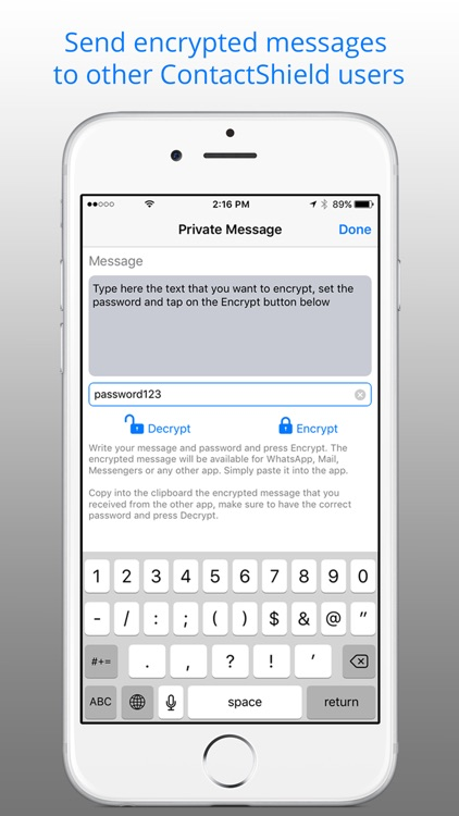 ContactShield for Contacts