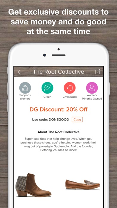 DoneGood: Ethical Shopping App - by DONEGOOD, LLC - Shopping