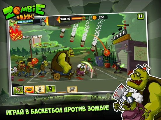 Zombie Smash! Basketball на iPad