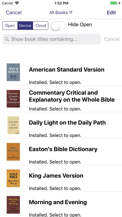 PocketBible Bible Study App