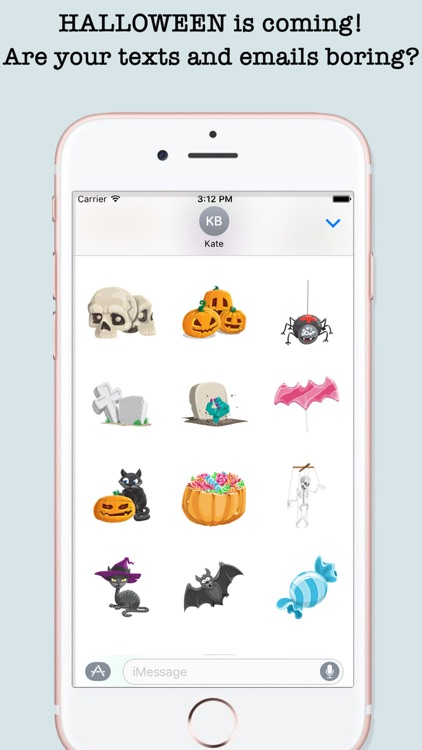 Halloween Emojis For iMessage screenshot-0