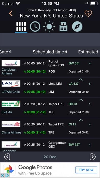 Flight360 Flugplan FlugstatusScreenshot von 1