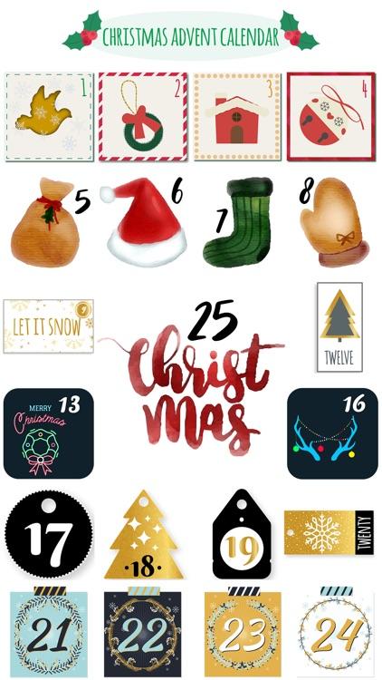Christmas Advent Calendar Pack