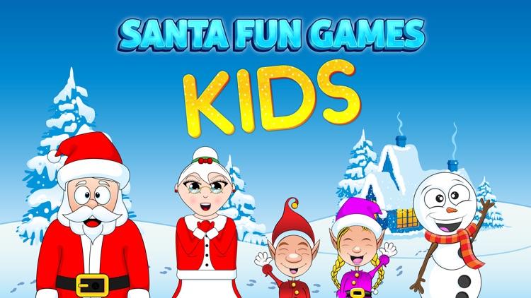 Santa Fun Games: Kids screenshot-0