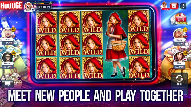 Slot Machines - Huuuge Casino screenshot-4