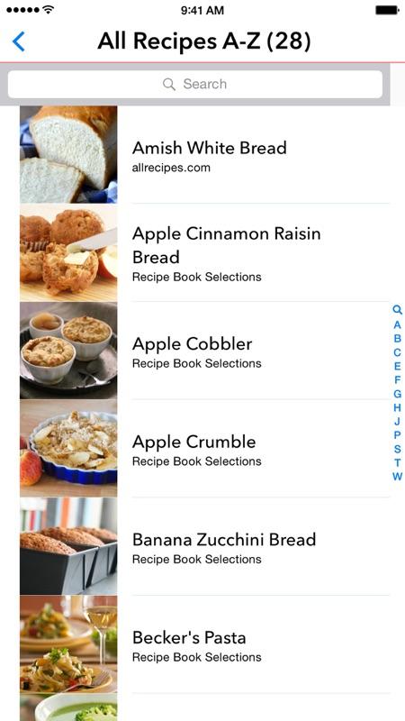 My Recipe Book Organizer Online
