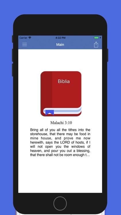 eBiblia Pro, The holy Bible