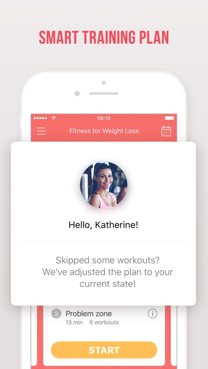 Fitness for weight loss: personalized workout plan screenshot-3