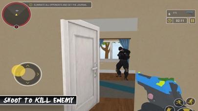 Robber Shooting Gun EscapeScreenshot of 2