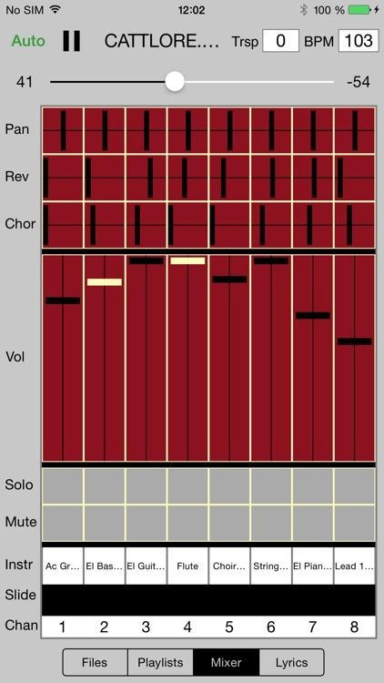 Sweet MIDI Player screenshot-3