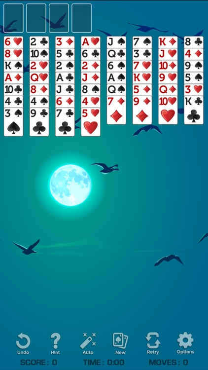 FreeCell Solitaire ◆ screenshot-4