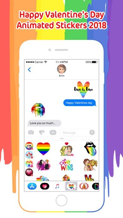 LGBT Animated Valentine's Day screenshot 1
