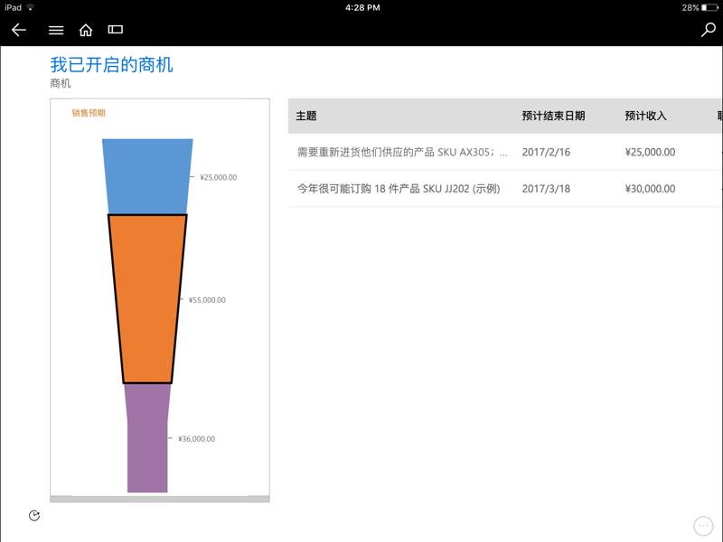 Microsoft Dynamics CRM截图2