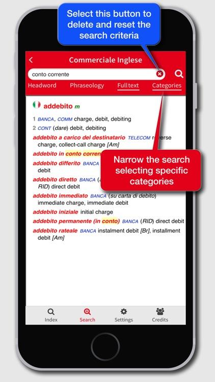 Business Dictionary EN-IT screenshot-3