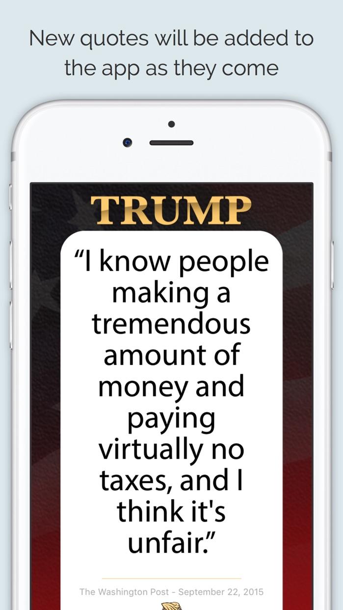 Texts From Donald Trump Screenshot
