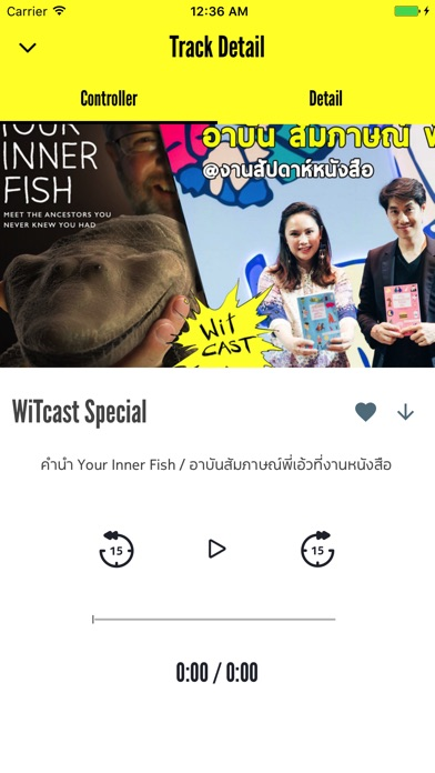 WiTcast Screenshot