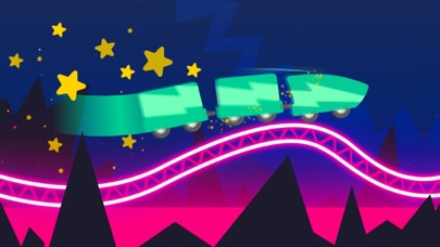 Rollercoaster Dash Screenshot on iOS