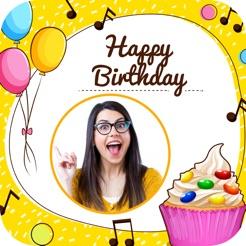 Happy Birthday Cake Frame On The App Store