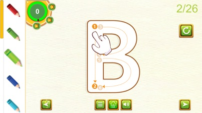 ABC Learning Tracing Letters screenshot three