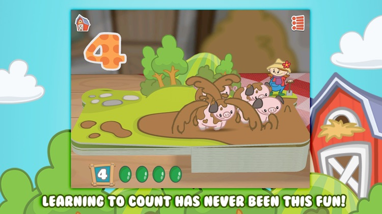 Farm 123 - Learn to count!