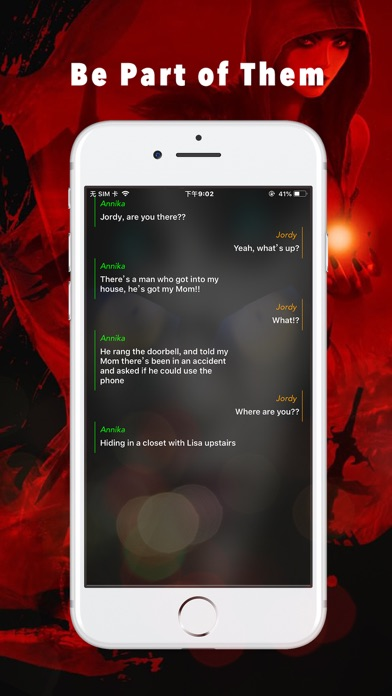 Screenshot for Scary Story - Chat Stories in United States App Store